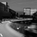 the bicycle snake bridge en Copenhague